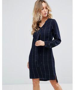 Sugarhill Boutique   Платье-Рубашка С Бантом