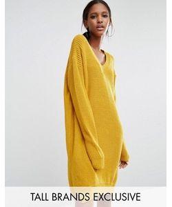 Daisy Street Tall   Свободное Платье-Джемпер