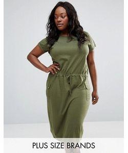 NVME | Платье Миди С Карманами Plus