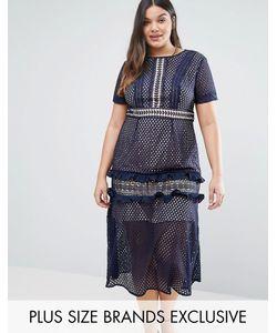Truly You | Кружевное Платье Миди
