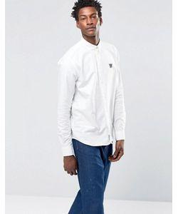 Woodwood | Оксфордская Рубашка Классического Кроя На Пуговицах С Логотипом Wood Wood Timothy