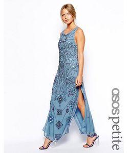 ASOS PETITE | Платье Миди С Зеркальной Отделкой Эксклюзивно Для