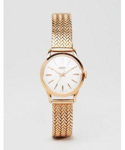 Henry London   Часы Цвета Розового Золота Hl25-M-0022 Richmond