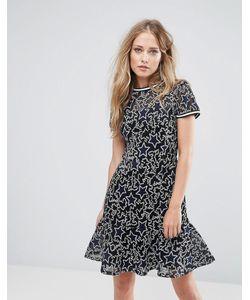 SuperTrash | Платье С Вышивкой Denon