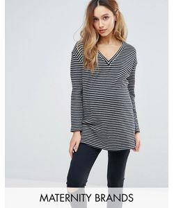 Isabella Oliver | Striped Knitted Jumper