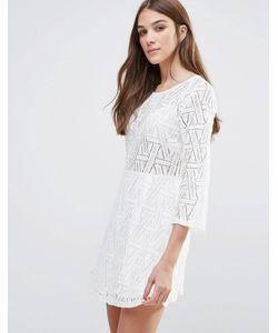 Liquorish | Платье Мини С Длинными Рукавами И Ажурным Кружевом Liqurosh