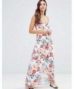 Minkpink | Платье Макси С Запахом Mink