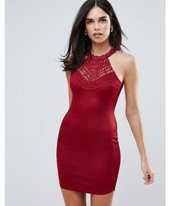 AX Paris | Облегающее Платье Мини С Открытыми Плечами