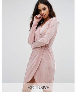 Club L | Плиссированное Платье