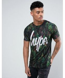 HYPE | T-Shirt In With Tree Print