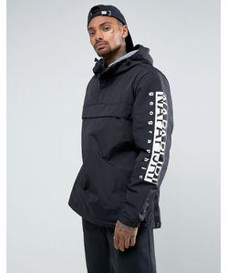 Napapijri | Черная Куртка С Логотипом