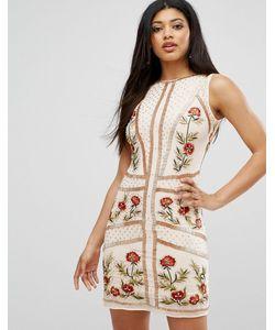 Frock and Frill | Платье С Цветочной Отделкой