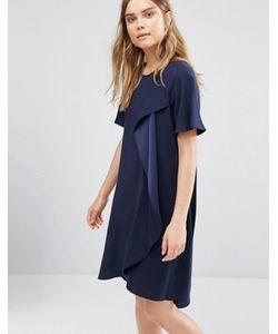 BCBGMAXAZRIA | Асимметричное Драпированное Платье