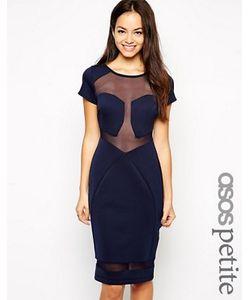ASOS PETITE | Платье С Сетчатыми Вставками Эксклюзивно Для