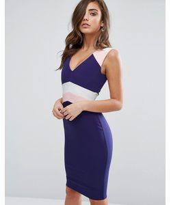 Vesper | Платье-Футляр В Стиле Колор Блок