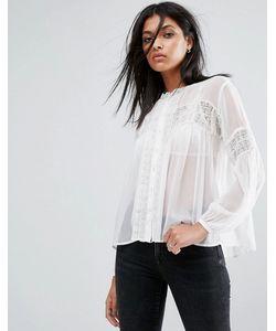 ALLSAINTS | Прозрачная Рубашка Pinto
