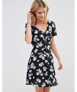 Style London | Чайное Платье С Цветочным Принтом