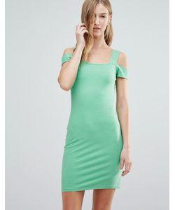 Motel | Платье С Вырезами На Плечах