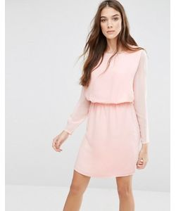 Lavand. | Приталенное Платье С Длинными Рукавами Lavand Classic