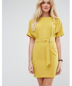 Asos | Платье Мини С D-Образной Пряжкой На Поясе