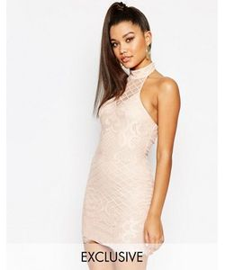 NaaNaa | Кружевное Платье С Высокой Горловиной