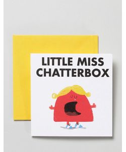 OHH DEER | Открытка Little Miss Chatterbox