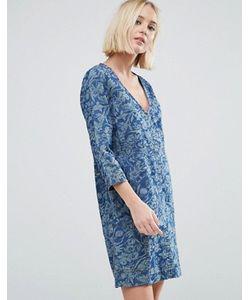 Pepe Jeans | Джинсовое Платье С Цветочным Принтом Ines