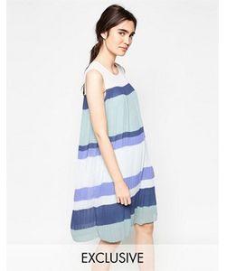 Y.A.S. | Плиссированное Платье В Стиле Колор Блок Y.A.S