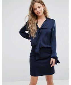 Vero Moda | Платье 2-В-1 С Декоративным Бантом