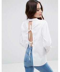 Asos | Рубашка С Открытой Спиной И Завязками Сзади