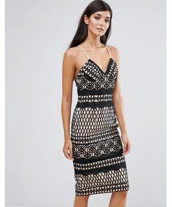 aijek | Кружевное Облегающее Платье