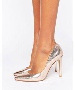 Dune | Aiyana Rose Heeled Court Shoe