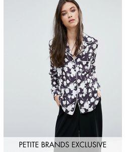 Alter Petite | Рубашка В Пижамном Стиле С Цветочным Принтом