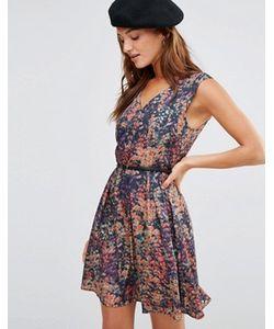 Lavand. | Платье С Цветочным Принтом И Ремнем Lavand