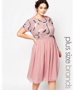 Lovedrobe Luxe | Платье Для Выпускного С Глубоким Вырезом Сзади