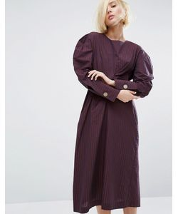 Style Mafia   Платье С Объемными Плечами Juliet