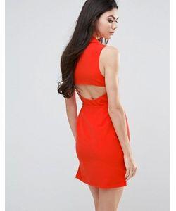 Lavish Alice | Цельнокройное Платье С Вырезом Сзади
