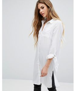 Noisy May | Длинная Рубашка С Пряжками