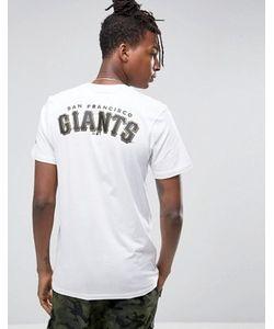 New Era | Футболка С Принтом На Спине La Giants