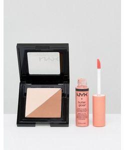NYX | Пудра И Блеск Для Губ Professional Make-Up Эксклюзивно Для