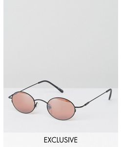 Reclaimed Vintage | Розовые Круглые Солнцезащитные Очки