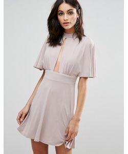 Love | Платье С Широкими Рукавами