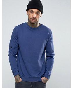Kubban   Sweater With Sleeve Zips