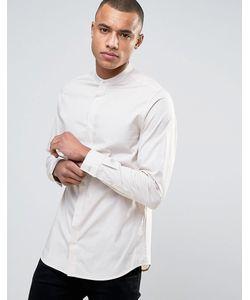 Jack & Jones | Рубашка Узкого Кроя Со Скрытой Планкой Premium