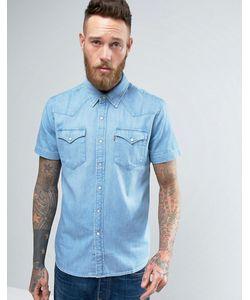 Levi's® | Джинсовая Рубашка Классического Кроя В Стиле Вестерн С Короткими Рукавами Levis