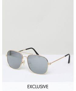 Reclaimed Vintage | Солнцезащитные Очки-Авиаторы
