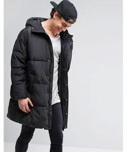 Asos | Свободная Дутая Куртка С Капюшоном