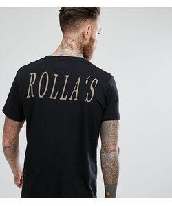 Rollas | Футболка С Принтом На Спине