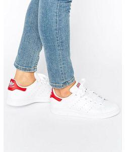 Adidas | С Красным Кроссовки Originals Stan Smith