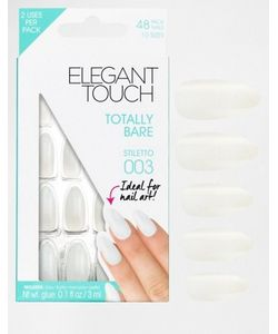 ELEGANT TOUCH | Накладные Ногти Totally Bare Stiletto